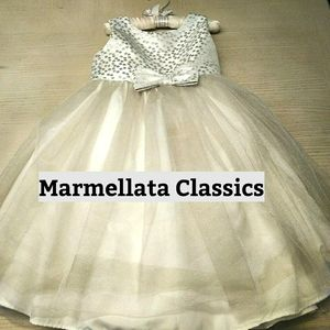 Marmellata Classics Spectacular Girls Dress Sz 5
